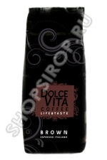 Кофе зерно Dolce Vita «Brown» 1 кг.