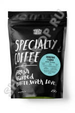 Кофе в зернах Tasty Coffee, микролот эспрессо «Эфиопия Гуджи», 250 г